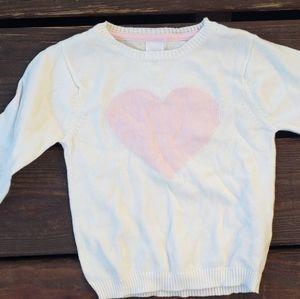 Beautiful Valentine's Day Heart Sweater